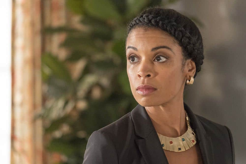 "THIS IS US -- ""Toby"" Episode 305 -- Pictured: Susan Kelechi Watson as Beth Pearson -- (Photo by: Ron Batzdorff/NBC)"