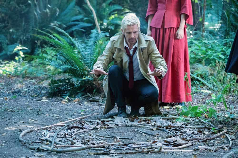 "DC's Legends of Tomorrow -- ""Witch Hunt"" -- Image Number: LGN402b_0090b.jpg -- Pictured: Matt Ryan as Constantine -- Photo: Jack Rowand/The CW -- © 2018 The CW Network, LLC. All Rights Reserved."