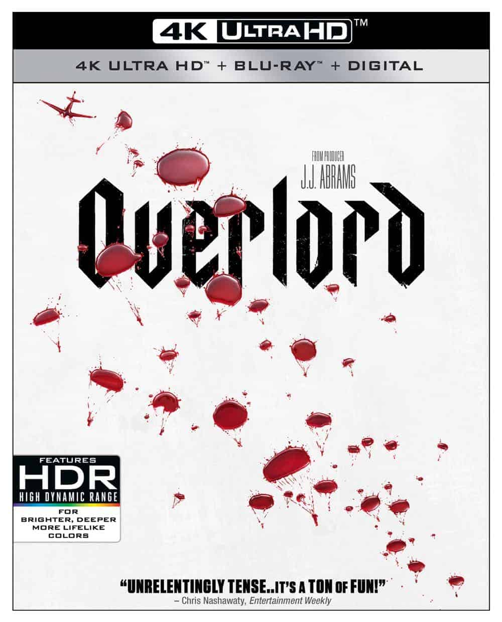 OVERLORD 4K, Blu-ray, Digital And DVD Release Details | SEAT42F