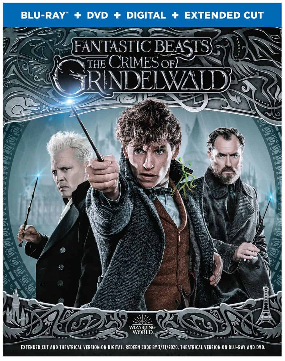 Fantastic Beasts The Crimes of Grindelwald 4K, Blu-ray, Digital And