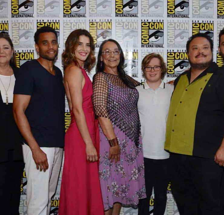 Stumptown Cast 2019 San Diego Comic Con