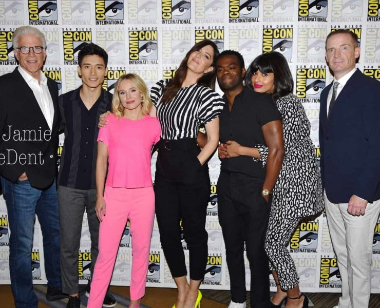 The Good Place Cast San Diego Comic Con 2019