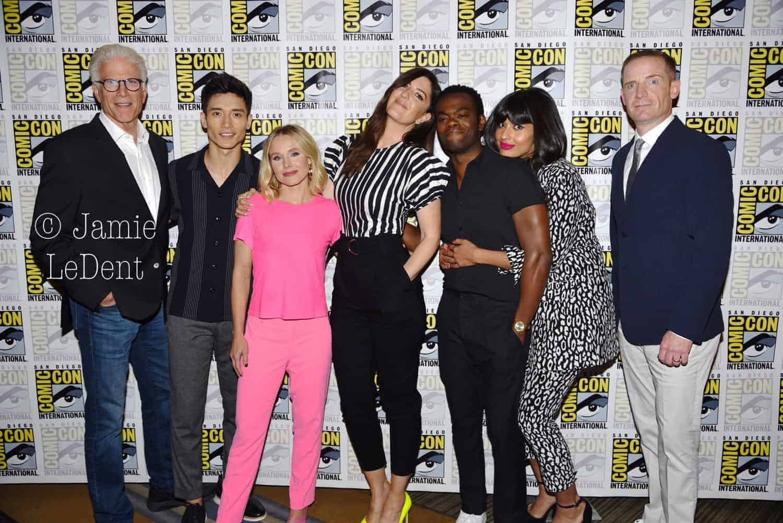 The Good Place Cast San Diego Comic Con 2019