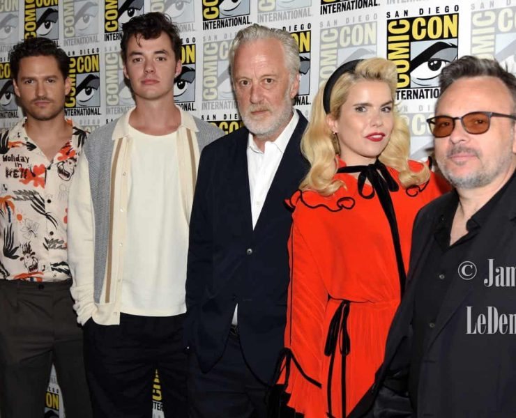 Pennyworth Cast San Diego Comic Con 2019