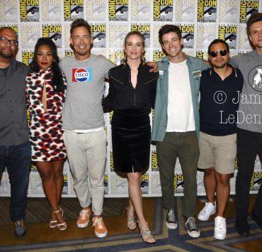 The Flash Cast San Diego Comic Con 2019