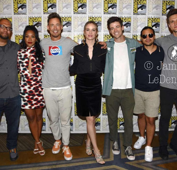 The Flash Cast San Diego Comic Con 2019