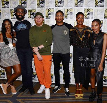 Black Lightning Cast San Diego Comic Con 2019