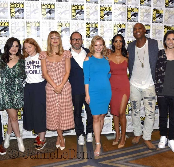 Supergirl Cast San Diego Comic Con 2019