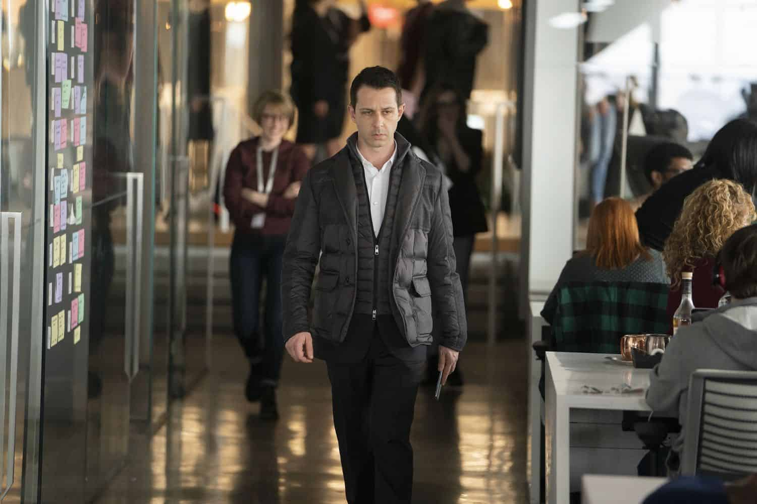 Succession Season 2, episode 2 (debuts 8/18/19): Jeremy Strong. photo: Peter Kramer/HBO