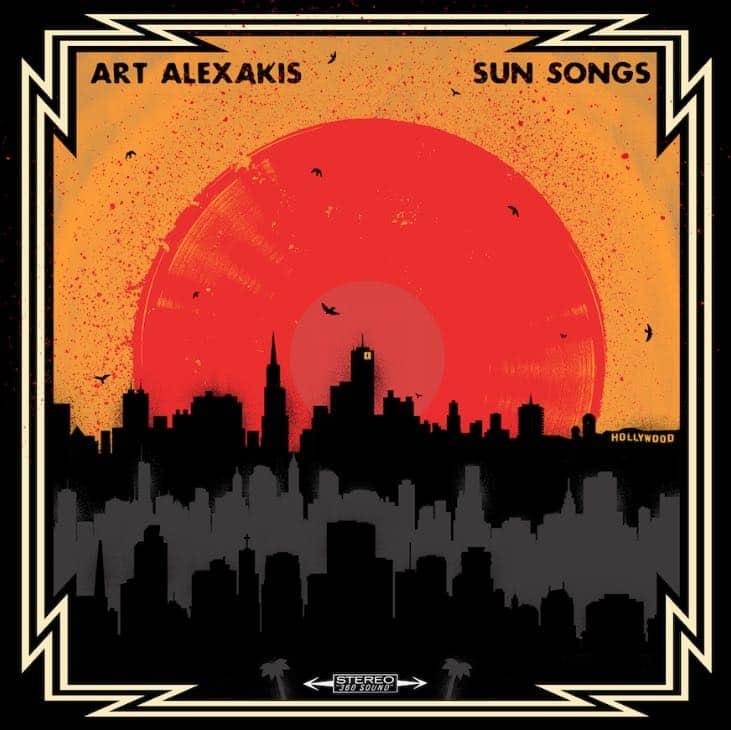 Sun Songs Art Alexakis Album Cover