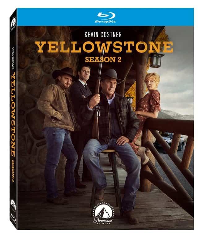 Yellowstone Season 2 Bluray Cover