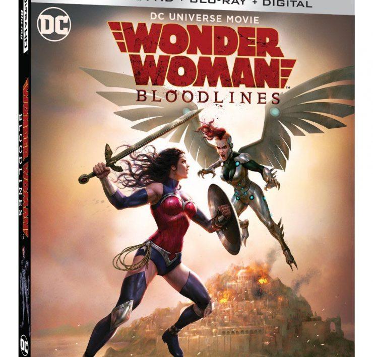 Wonder Woman Bloodlines 4K Cover