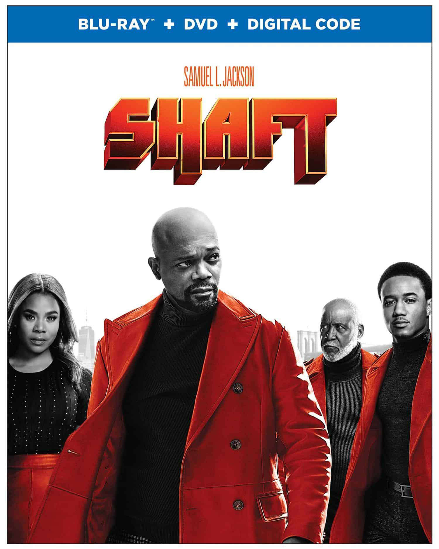Shaft 2019 Bluray Cover