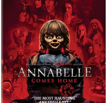 Annabelle Comes Home Bluray Cover