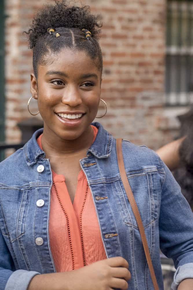 """THIS IS US -- """"Strangers"""" Episode 401 -- Pictured: Lyric Ross as Deja -- (Photo by: Ron Batzdorff/NBC)"""