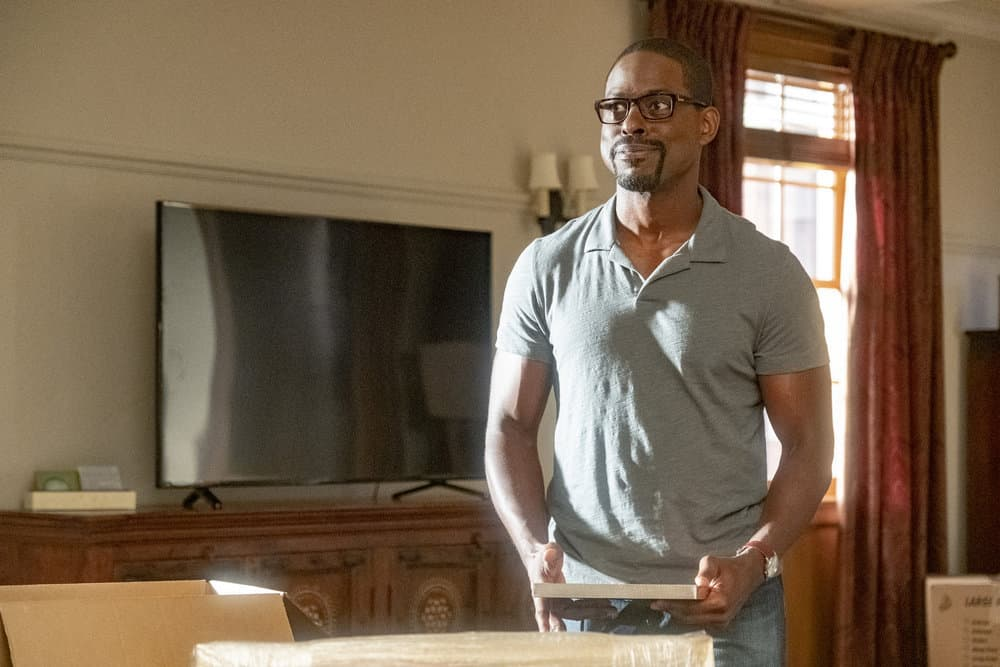 """THIS IS US -- """"Strangers"""" Episode 401 -- Pictured: Sterling K. Brown as Randall -- (Photo by: Ron Batzdorff/NBC)"""