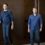 """""""Let Fate Decide"""" -- Pictured: David James Elliott (Navy Captain Harmon Rabb, Jr.) and Chris O'Donnell (Special Agent G. Callen). Callen and Sam work with Navy Capt. Harmon Rabb, Jr. (David James Elliott) to apprehend spies aboard the USS Allegiance. Also, Hetty partners with Marine Lt. Col. Sarah """"Mac"""" Mackenzie to neutralize a missile attack in the Middle East, and Kensi and Deeks are trapped in a mobile CIA unit in Iraq while under attack by ISIS, on the 11th season premiere of NCIS: LOS ANGELES, Sunday, Sept. 29 (9:30-10:30 PM, ET/PT) on the CBS Television Network. Photo: Erik Voake/CBS ©2019 CBS Broadcasting, Inc. All Rights Reserved."""