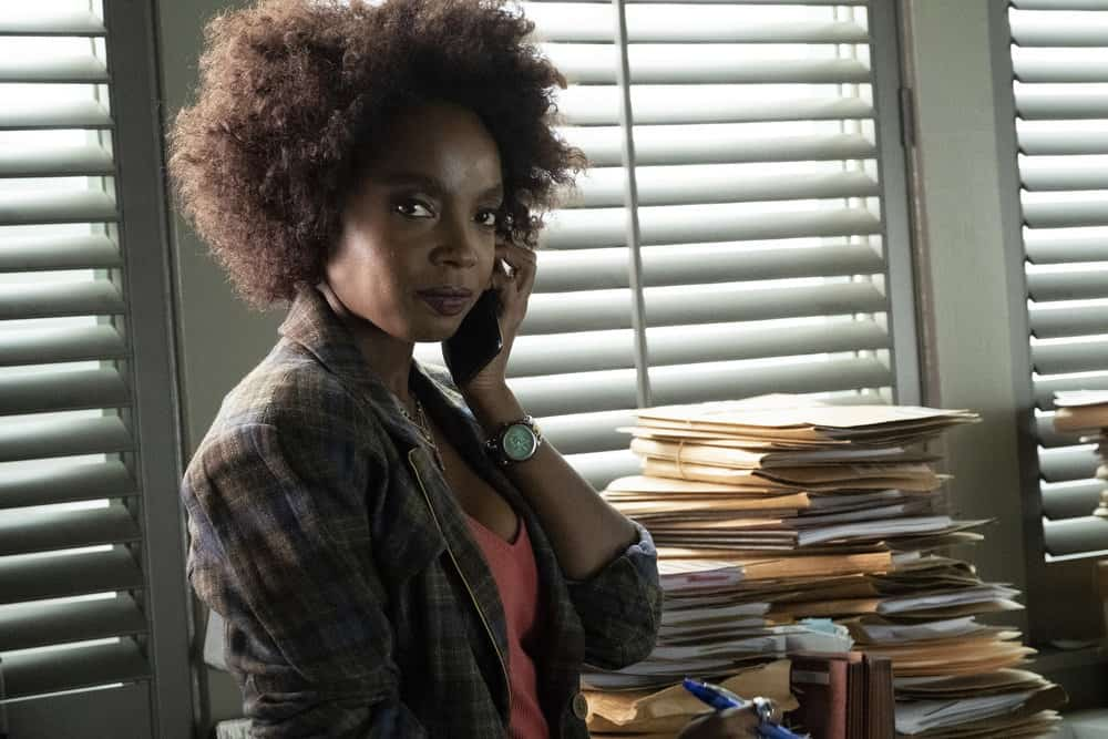 "BLUFF CITY LAW -- ""Pilot"" Episode 101 -- Pictured: MaameYaa Boafo as Briana Johnson -- (Photo by: Jake Giles Netter/NBC)"