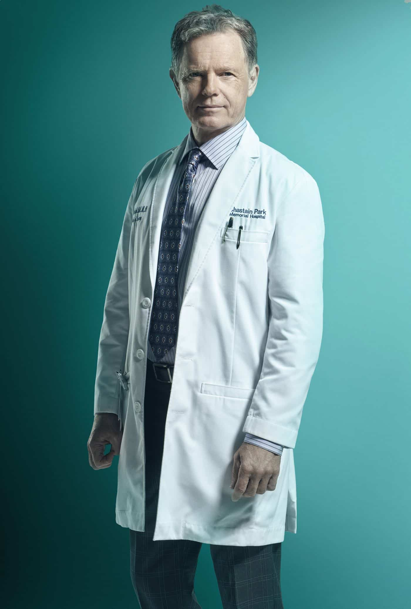 THE RESIDENT: Bruce Greenwood as Dr. Randolph Bell in Season Three of THE RESIDENT premiering Tuesday (8:00-9:00 PM ET/PT) on FOX. ©2019 Fox Media LLC. Cr: Miranda Penn Turin/FOX