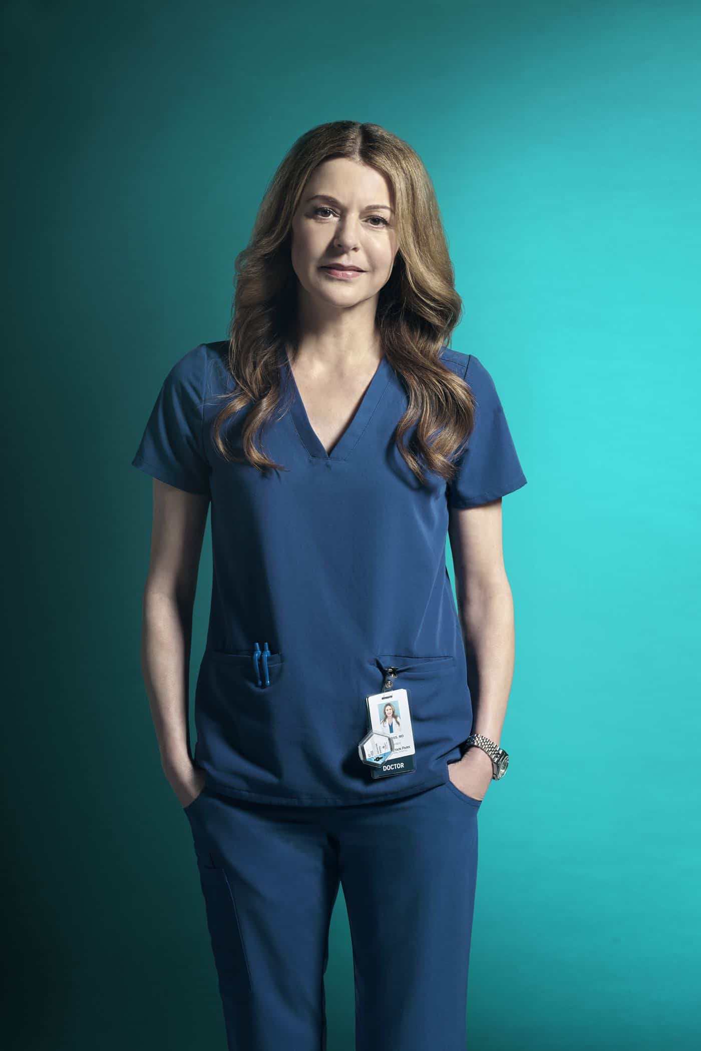 THE RESIDENT:  Jane Leeves as Dr. Kit Voss in Season Three of THE RESIDENT premiering Tuesday (8:00-9:00 PM ET/PT) on FOX. ©2019 Fox Media LLC. Cr: Miranda Penn Turin/FOX