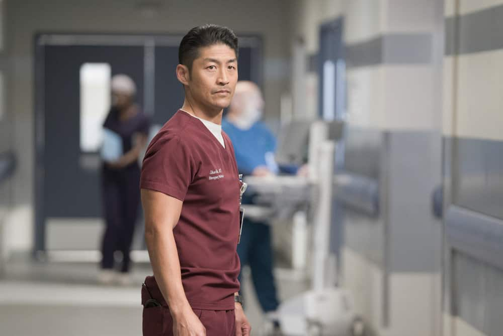 """CHICAGO MED -- """"Never Going Back To Normal"""" Episode 501 -- Pictured: Brian Tee as Dr. Ethan Choi -- (Photo by: Elizabeth Sisson/NBC)"""