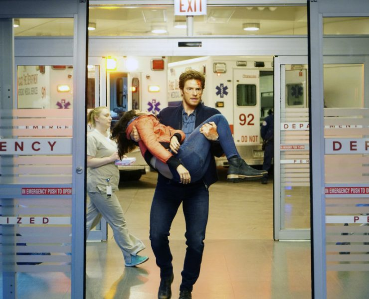 """CHICAGO MED -- """"Never Going Back To Normal"""" Episode 501 -- Pictured: Nick Gehlfuss as Will Halstead -- (Photo by: Elizabeth Sisson/NBC)"""