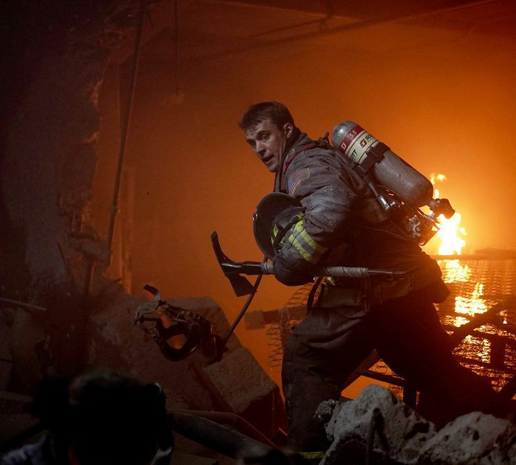 "CHICAGO FIRE -- ""Sacred Ground"" Episode 801 -- Pictured: Jesse Spencer as Matthew Casey -- (Photo by: Elizabeth Morris/NBC)"