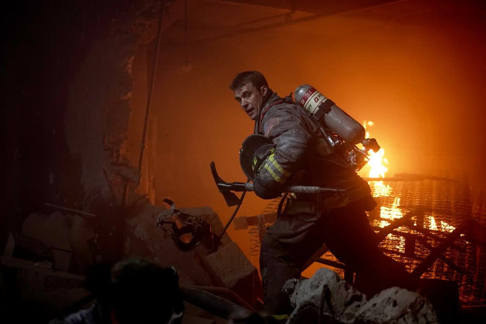 """CHICAGO FIRE -- """"Sacred Ground"""" Episode 801 -- Pictured: Jesse Spencer as Matthew Casey -- (Photo by: Elizabeth Morris/NBC)"""